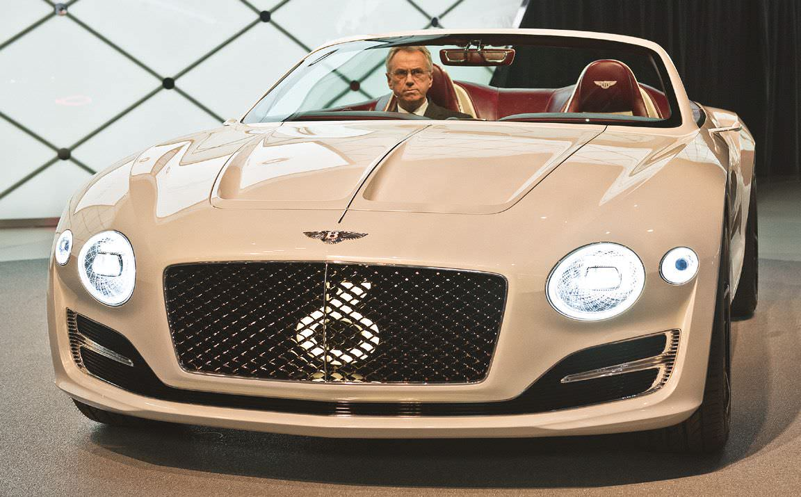 Future Of Bentley Is Electrifying