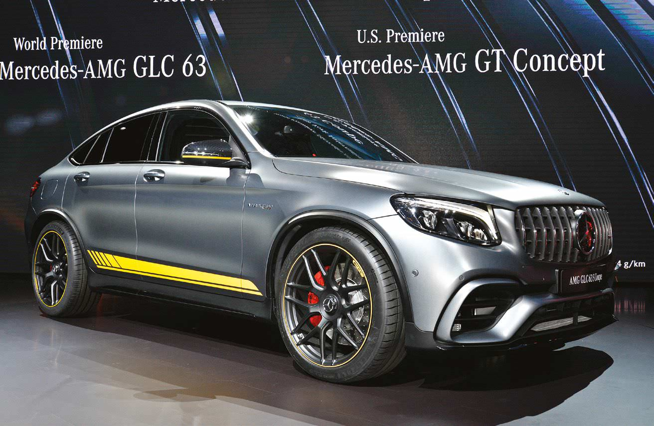 Mercedes AMG GLC63 S Coupe