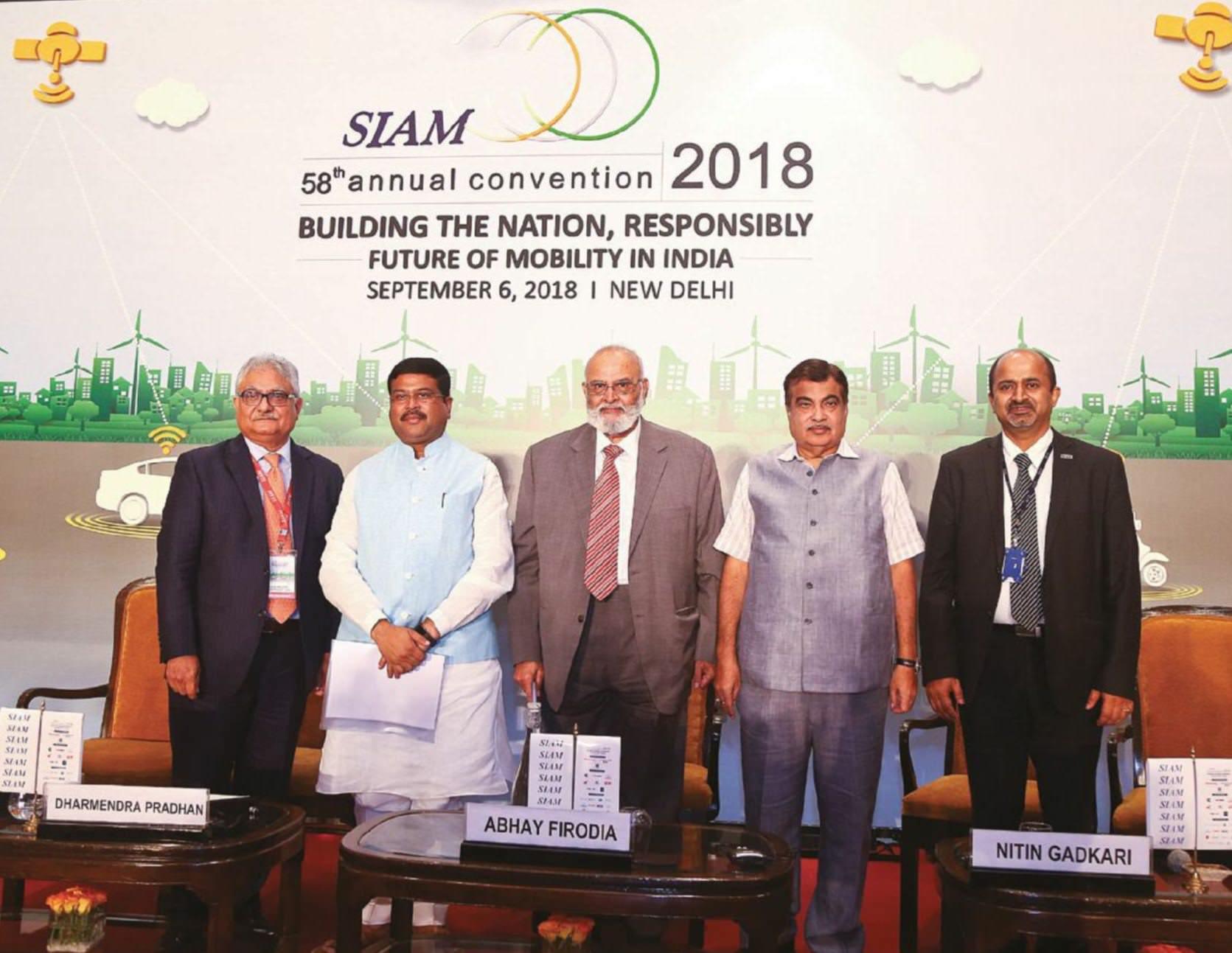 SIAM Pushes EV Future