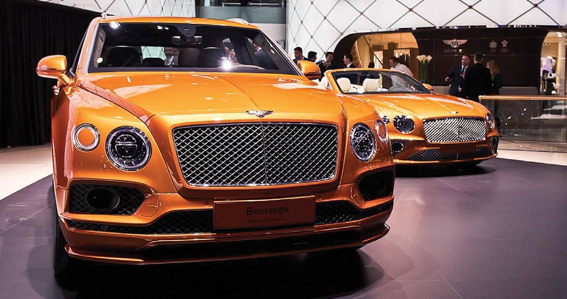 Bentley Takes The Faster Route