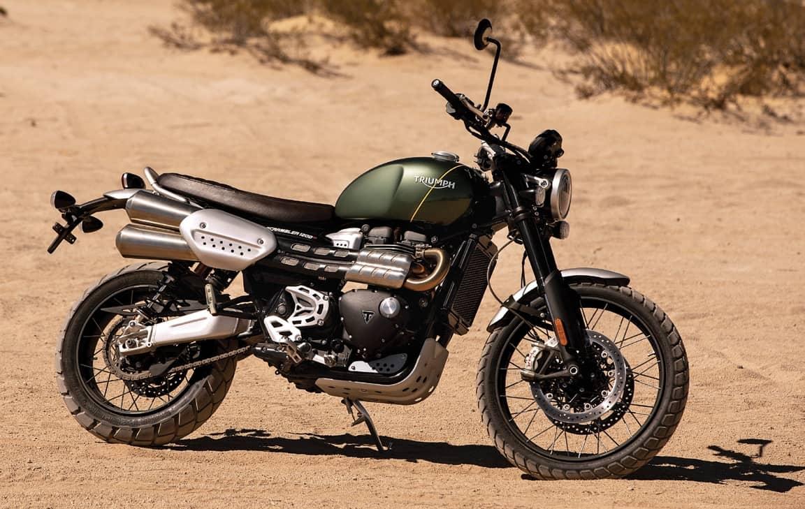 Triumph's New Scrambler 1200