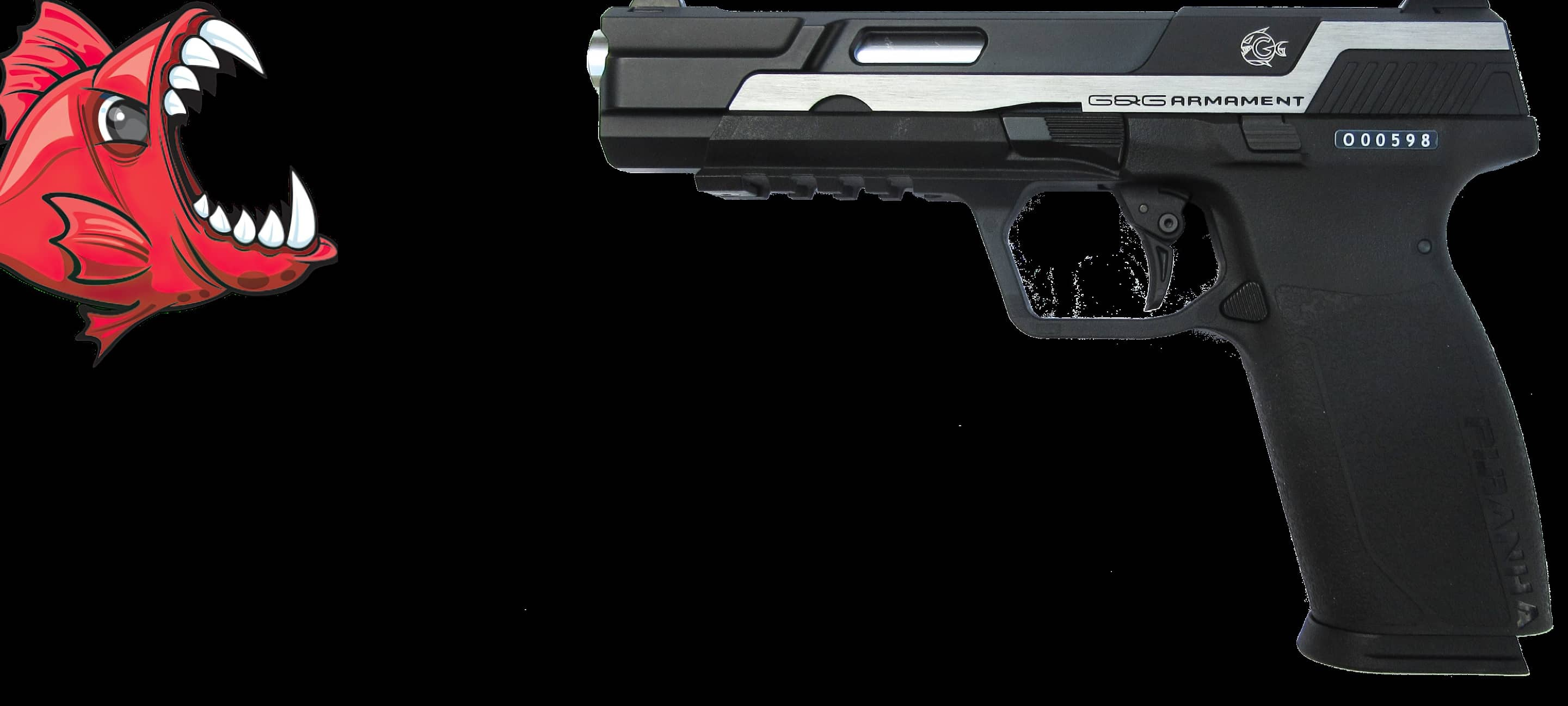 A PISTOL  WITH BITE!!