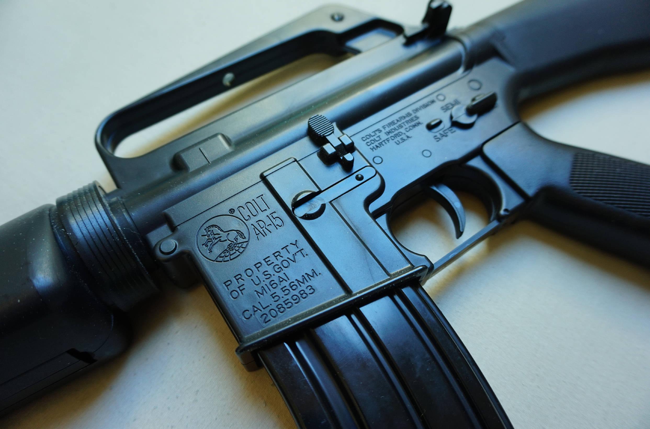 SPRINGTIME FOR THE M16A1