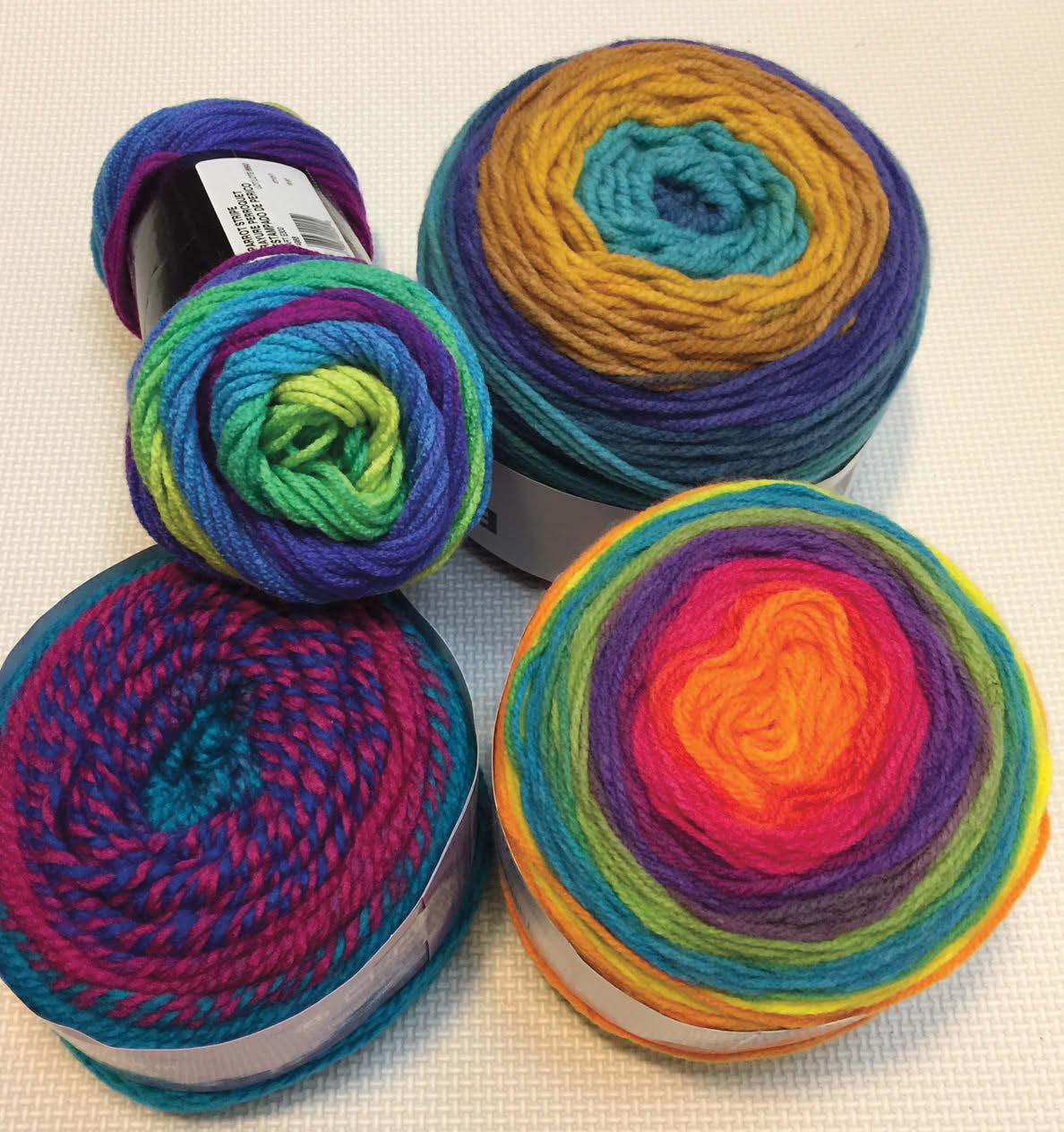 Crocheting With Self-Striping Yarns
