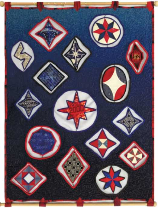"""Linda Cooper's Curious """"What If"""" Quilts"""