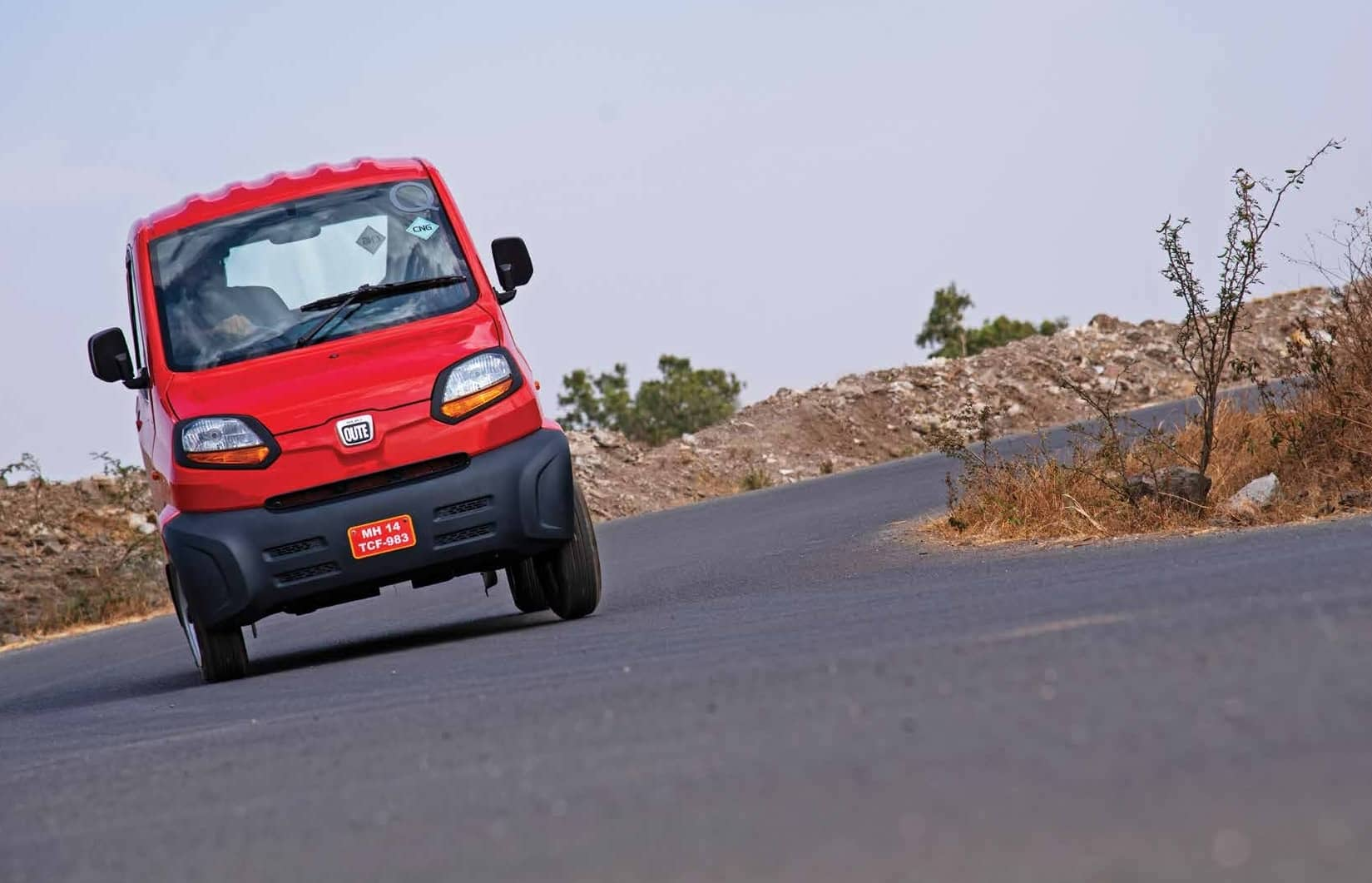 Bajaj Qute - First-Of-Its-Kind Qute In India