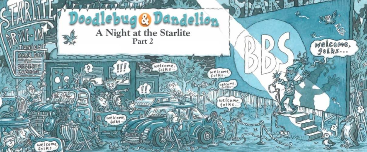 Doodlebug & Dandelion