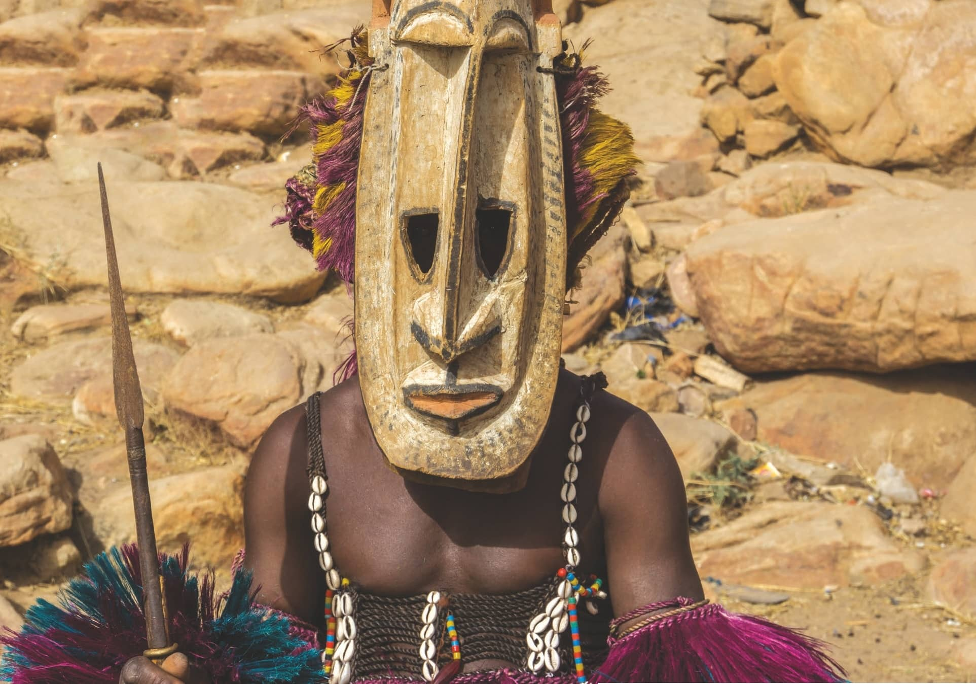 Life Behind the Mask : THE DOGON