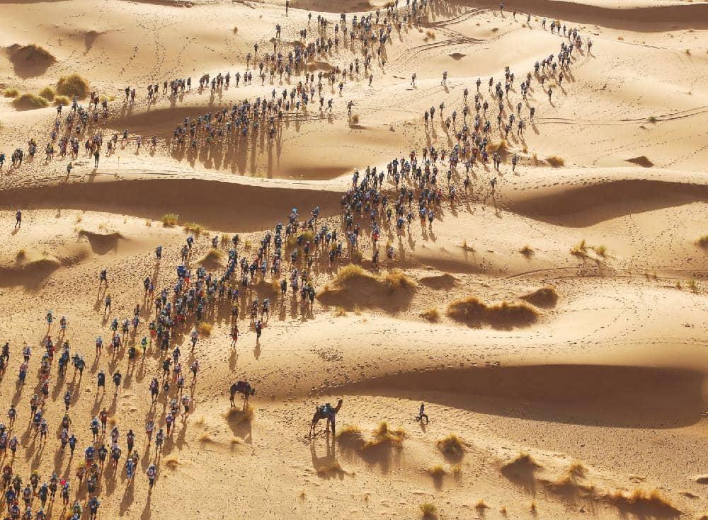 HUMAN VERSUS DESERT: THE MARATHON DES SABLES