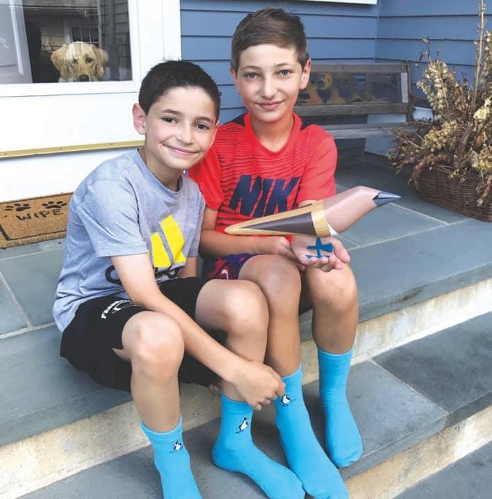 Selling Socks To Save Seabirds