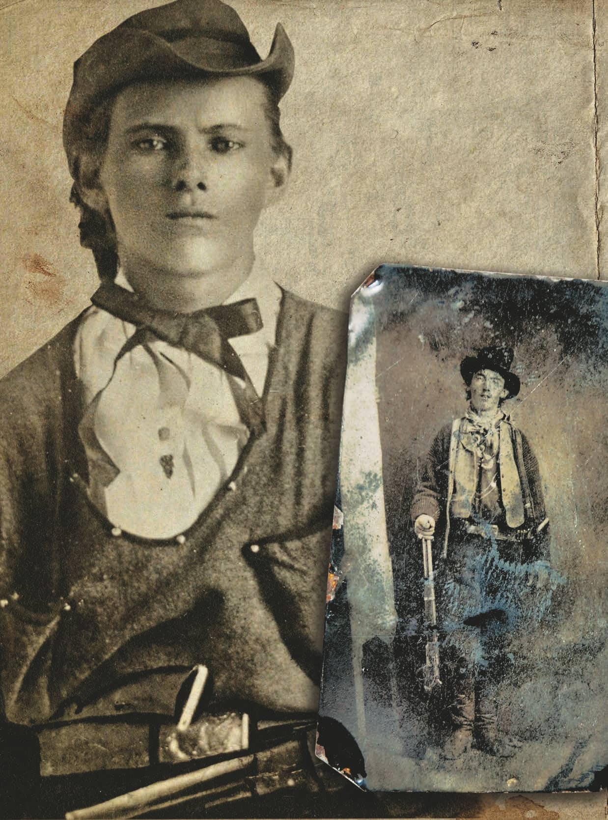 BROTHERS IN BLOOD JESSE JAMES AND BILLY THE KID