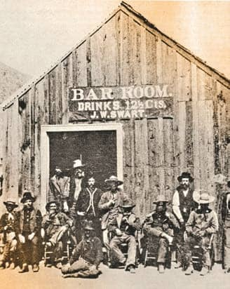 THE COWBOY SALOON OF STILWELL AND STWART