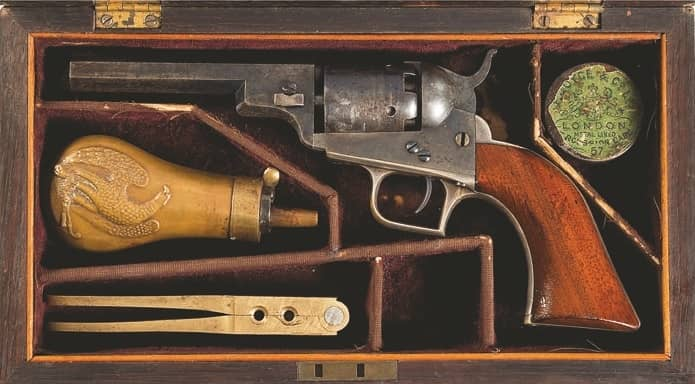 Punch in a Pocket— 1848 Baby Dragoon Revolver