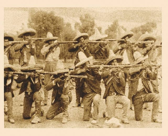Guns of Mexico's Freedom Fighters