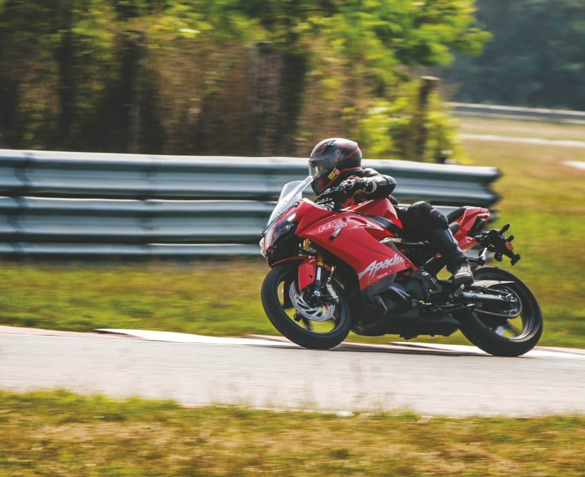 2020 TVS APACHE RR 310 BALLISTIC AND LOADED