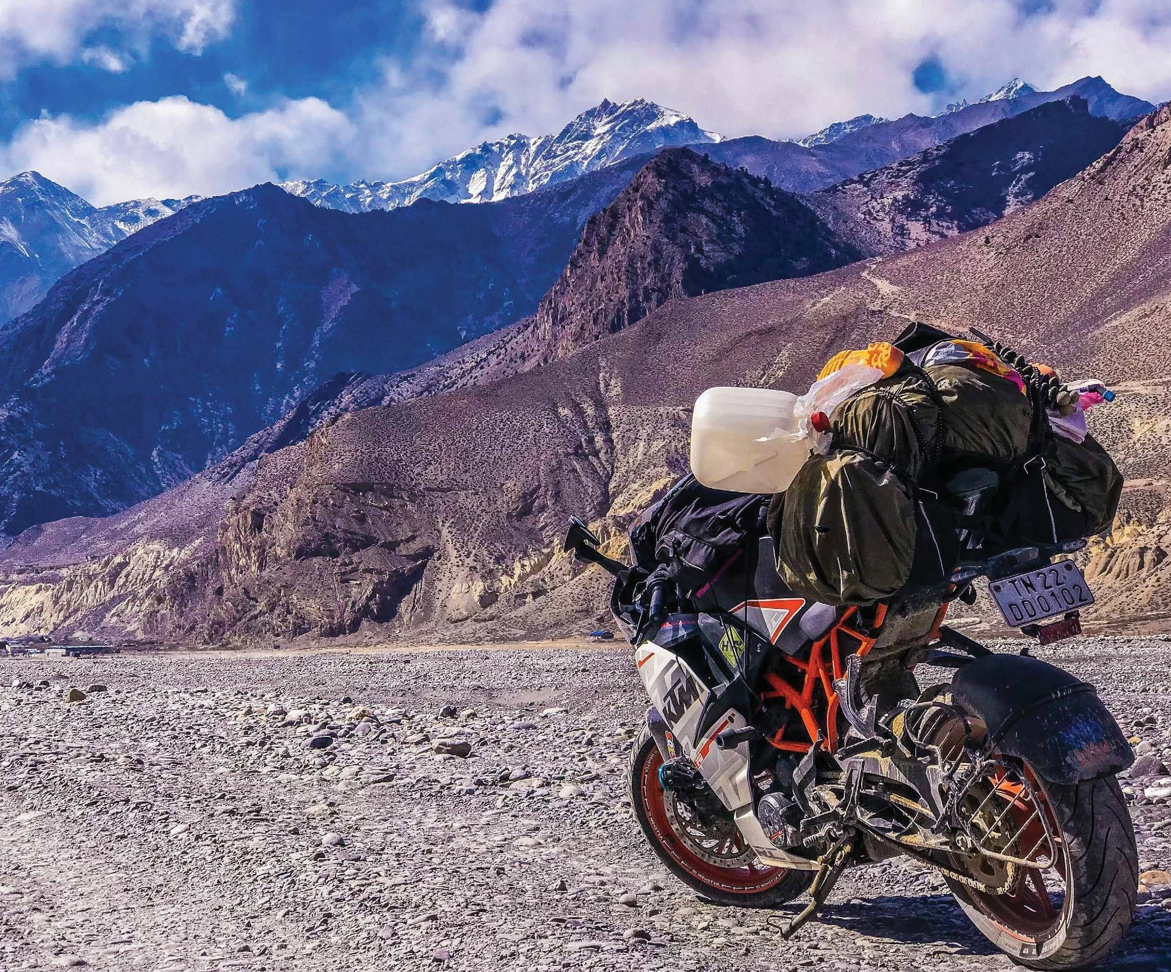 OF MOTORCYCLES, MOUNTAINS, AND 'MUSTANG'