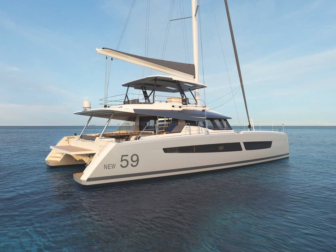 New Fountaine Pajot 59 Debut By Multihull Solutions