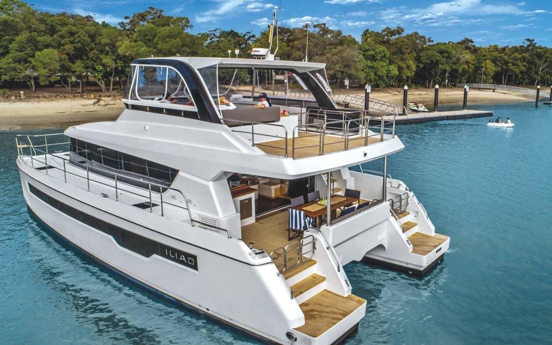ILIAD Catamarans Strong Performance