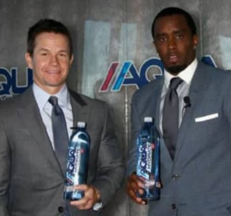 Mark Wahlberg & Diddy Combs Join The Cannabis Industry Endorsing CBD Alkaline Water Line