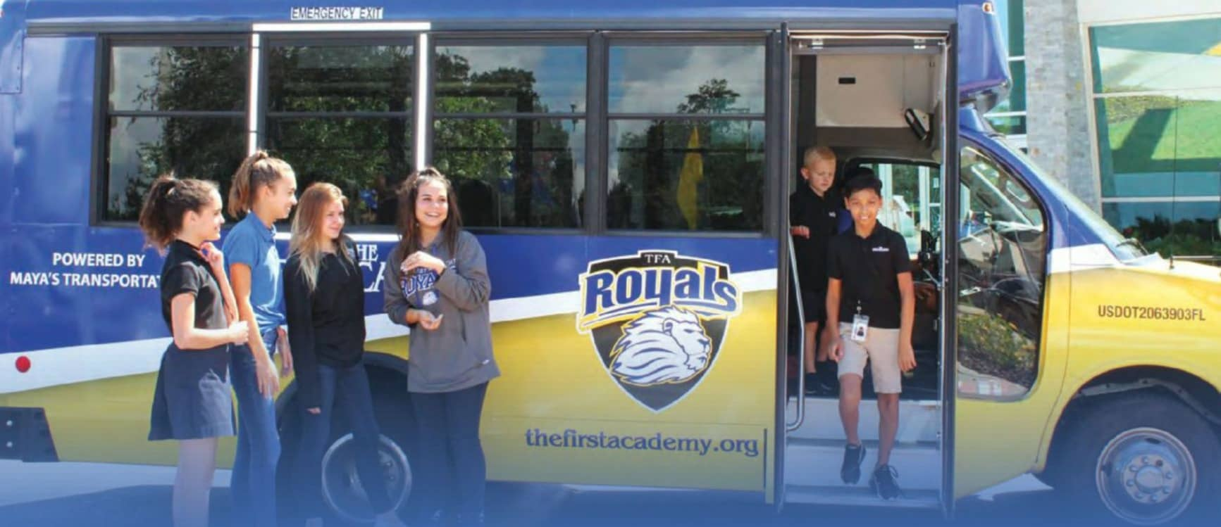The First Academy Bus – Now Rolling Through Windermere