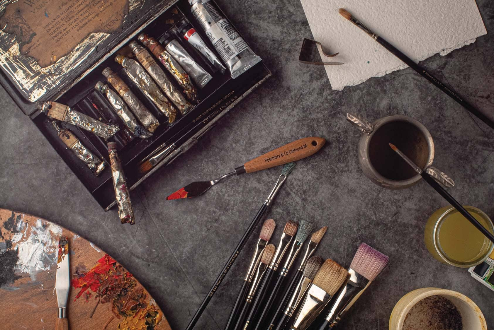 Brush And Palette Care