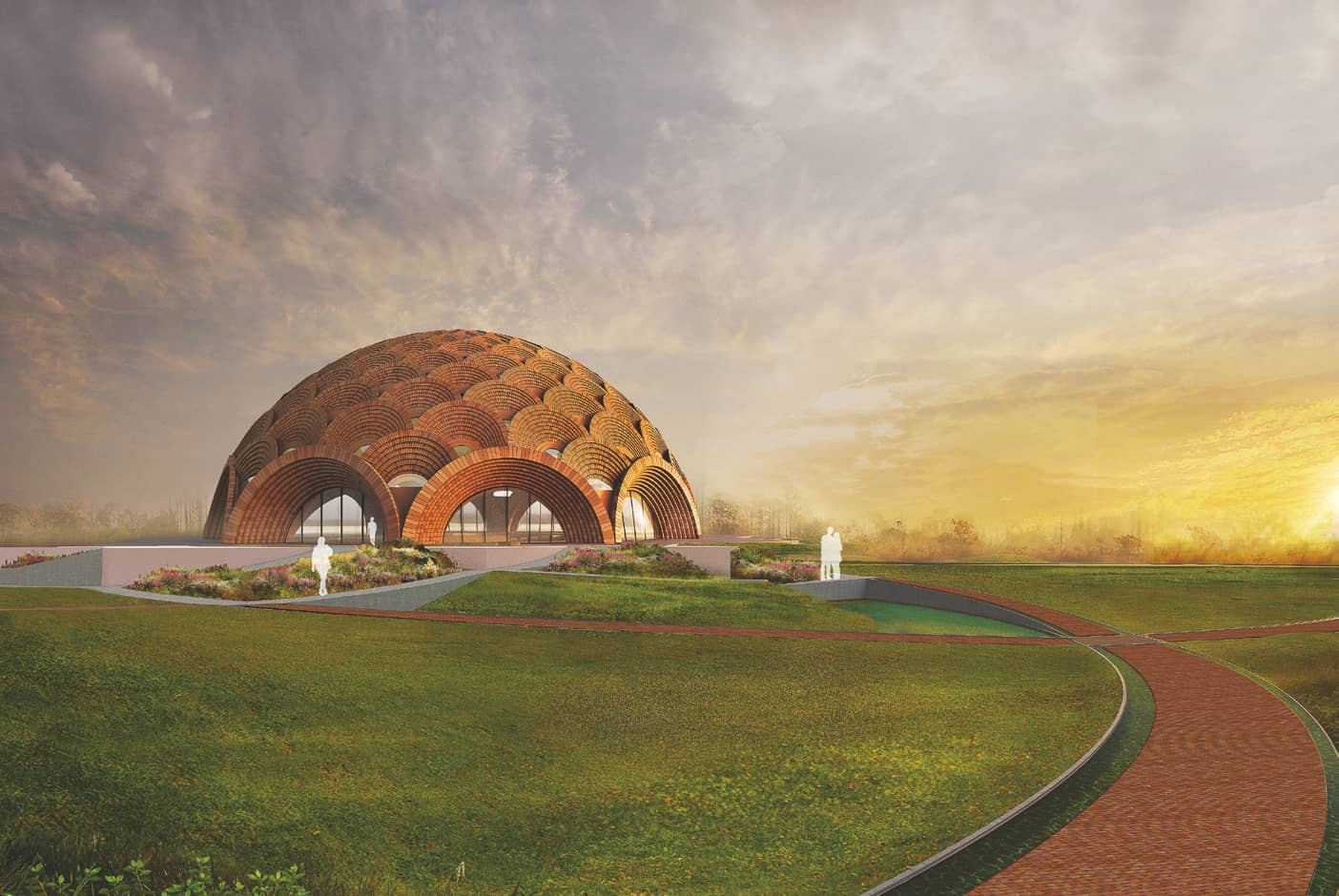 Design unveiled for Baha'i House of Worship located in Bihar Sharif