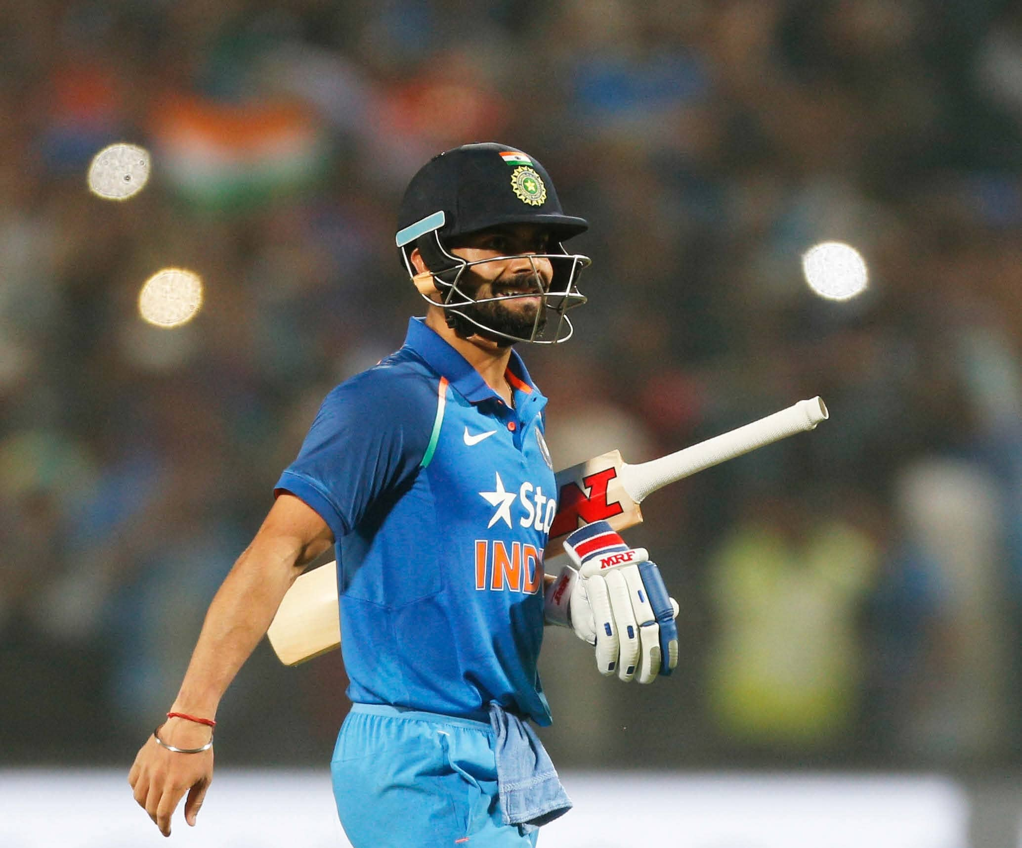 KOHLI AVERAGED HIS LOWEST SINCE FIVE YEARS IN THE ODIS AGAINST NEW ZEALAND