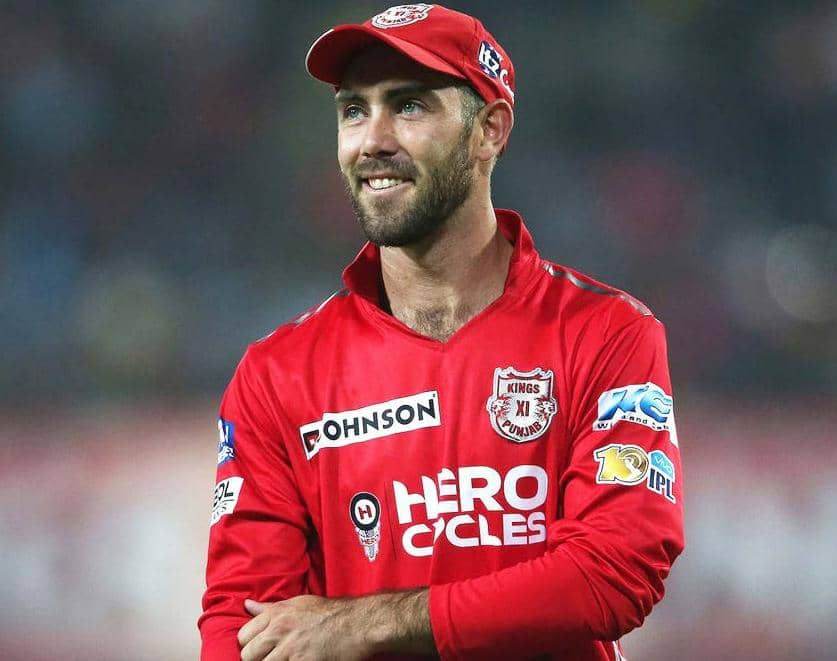 KINGS XI PUNJAB ARE BANKING ON THE GLENN MAXWELL FACTOR