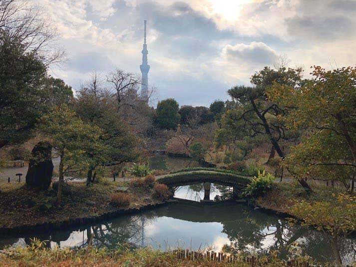 Tokyo's Mukōjima Hyakkaen Garden