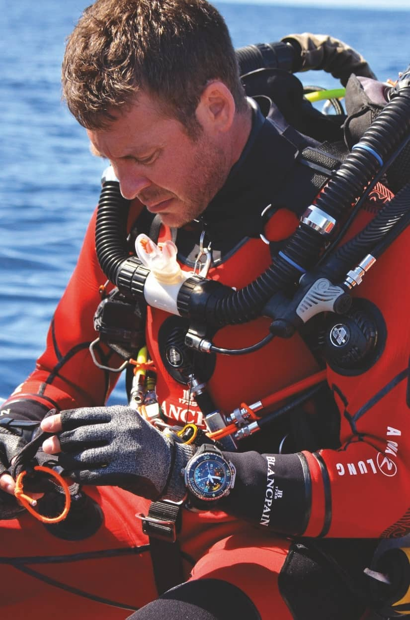 Why Blancpin Collaborator Laurent Ballesta Is No Superstar Diver
