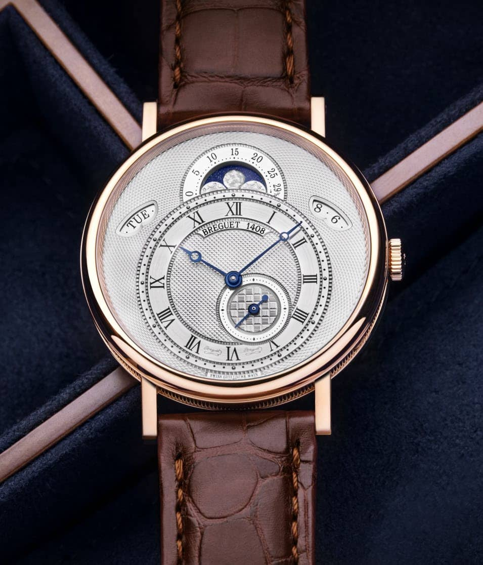 Breguet Engine-Turned Dial