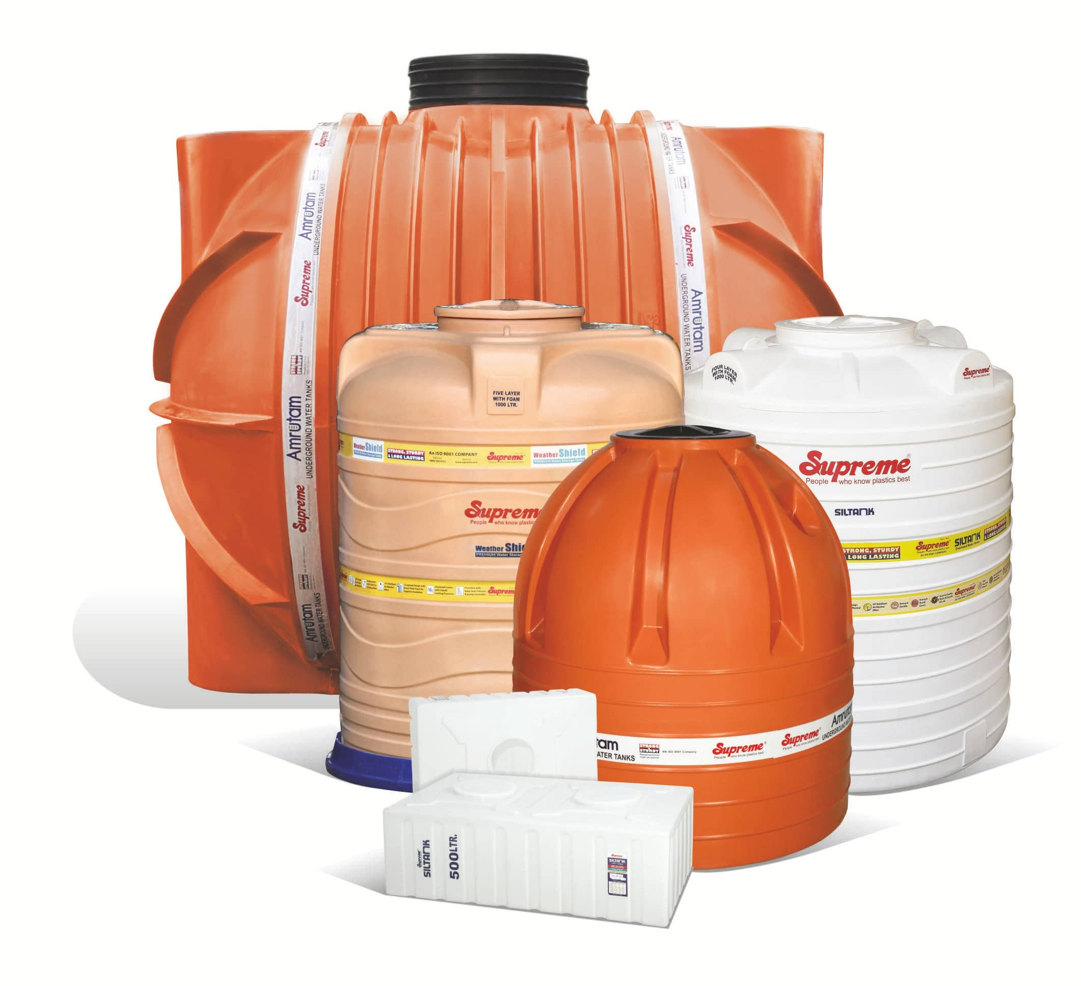 Supreme Weathershield Premium Water Storage Tanks