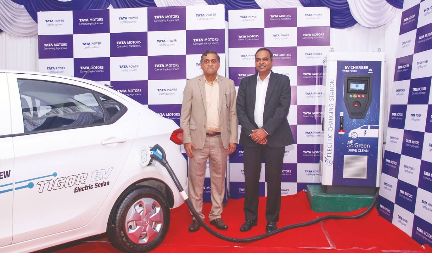 Tata Power, Tata Motors To Set In Motion Electric Mobility Infra In India