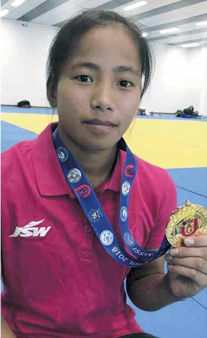 Judoka From Manipur Wins Olympic Medal