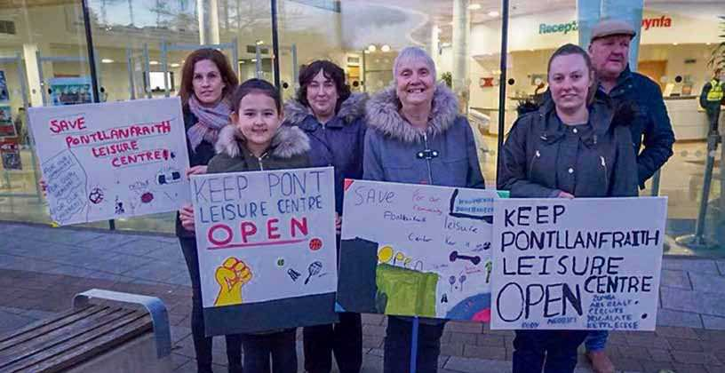 Victory: Pontllanfraith Leisure Centre Saved