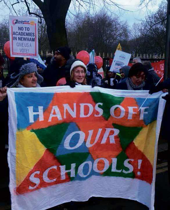 Newham: Teaching Workers And Parents Determined To Halt Academies