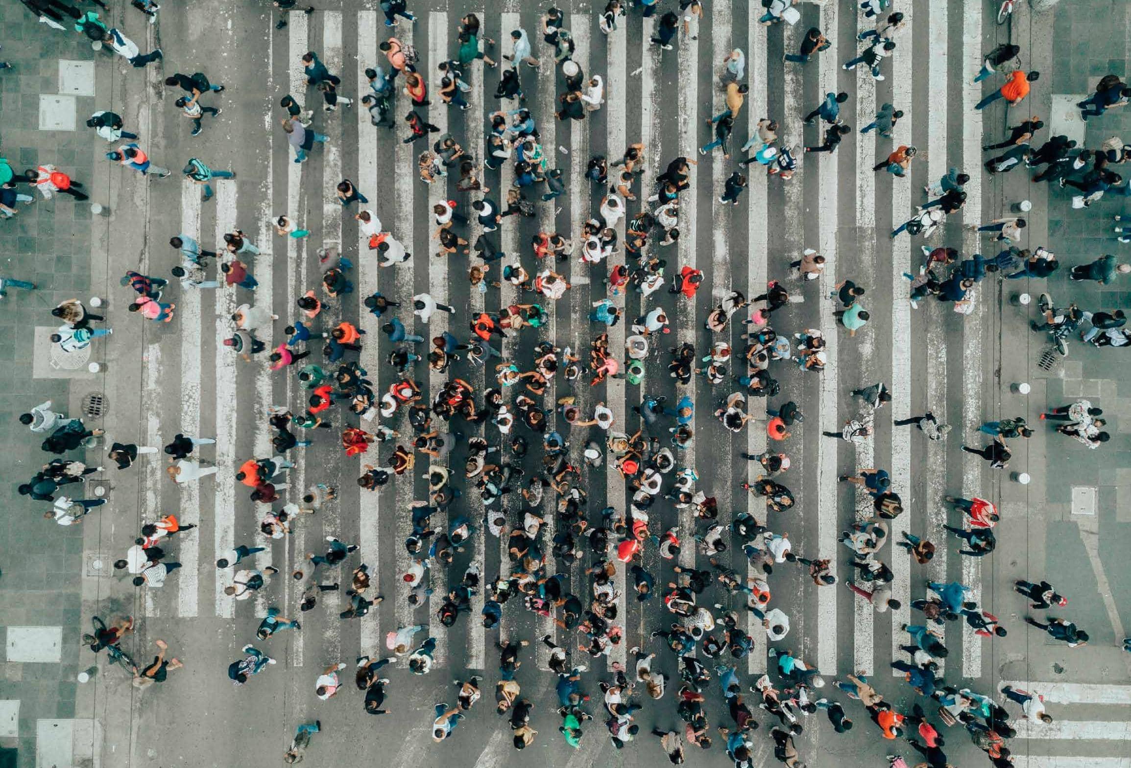 ¿Cuántas personas en esta multitud se sienten solas?