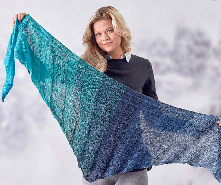 It's A Wrap Yarn Enhances Simple Knit And Purl Stitches