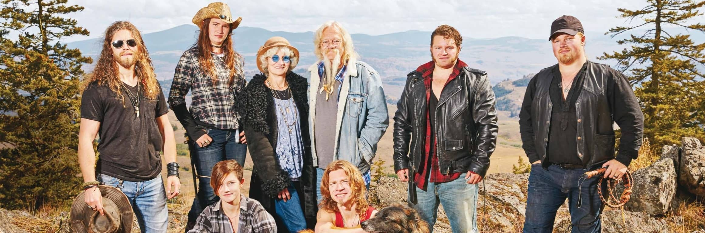 The Alaskan Bush People Family Standing Strong