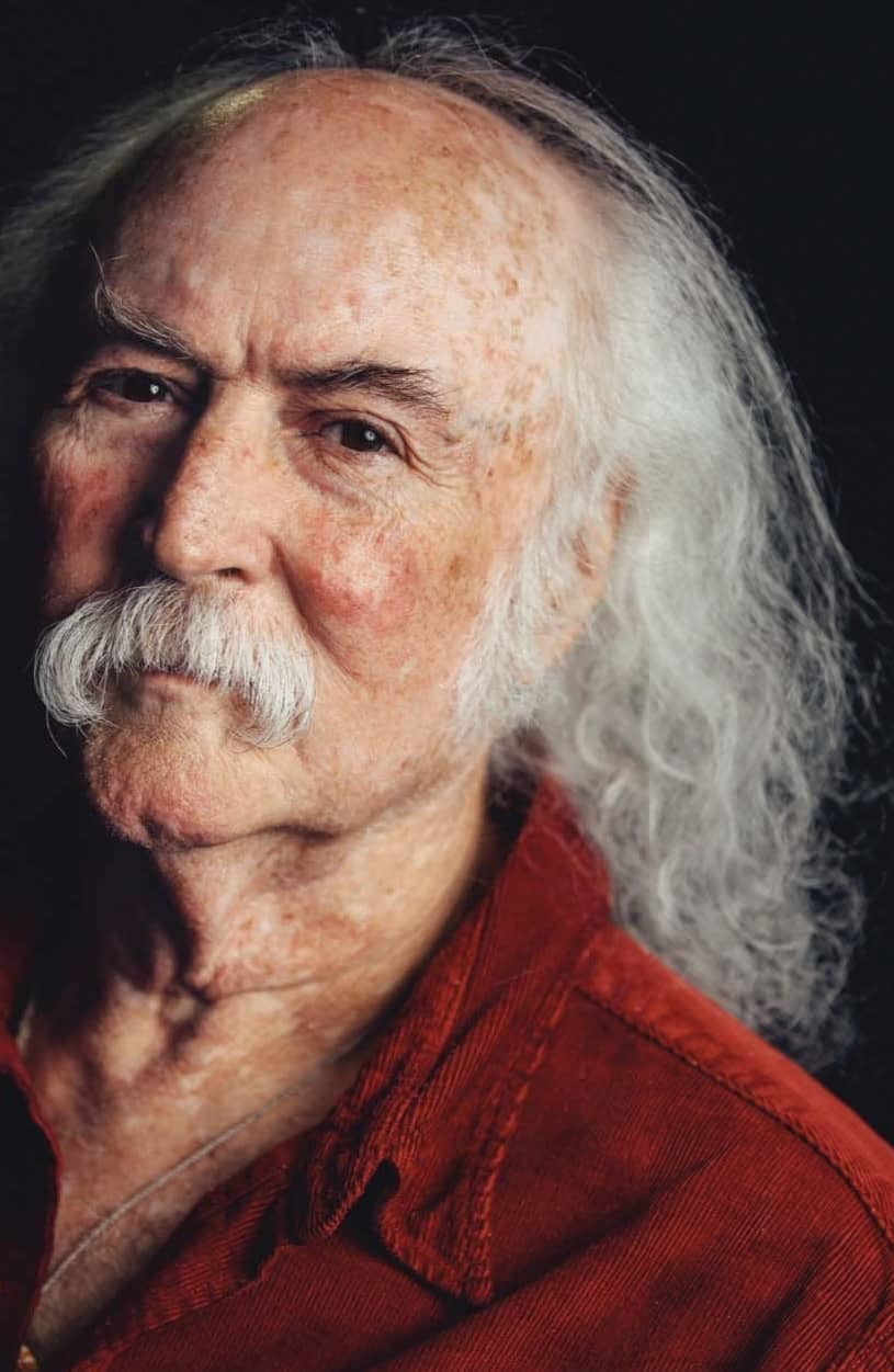 David Crosby -The Man Seen (& Done) It All