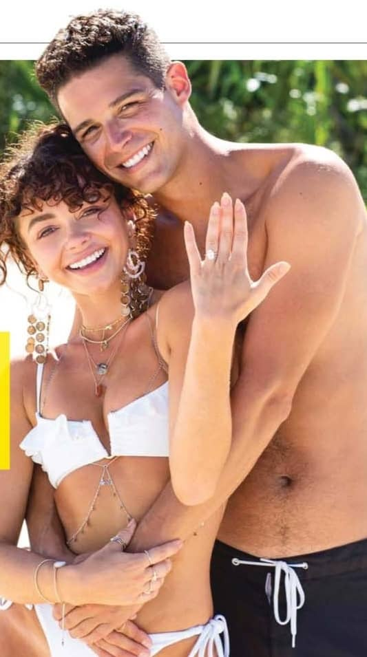 Sarah Hyland &Wells Adams- Inside Their Romantic Engagement