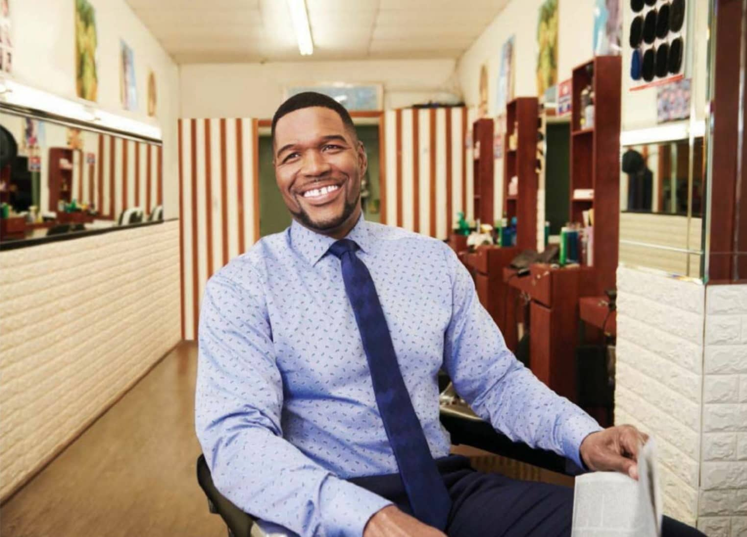 The Brief Time With ...Michael Strahan