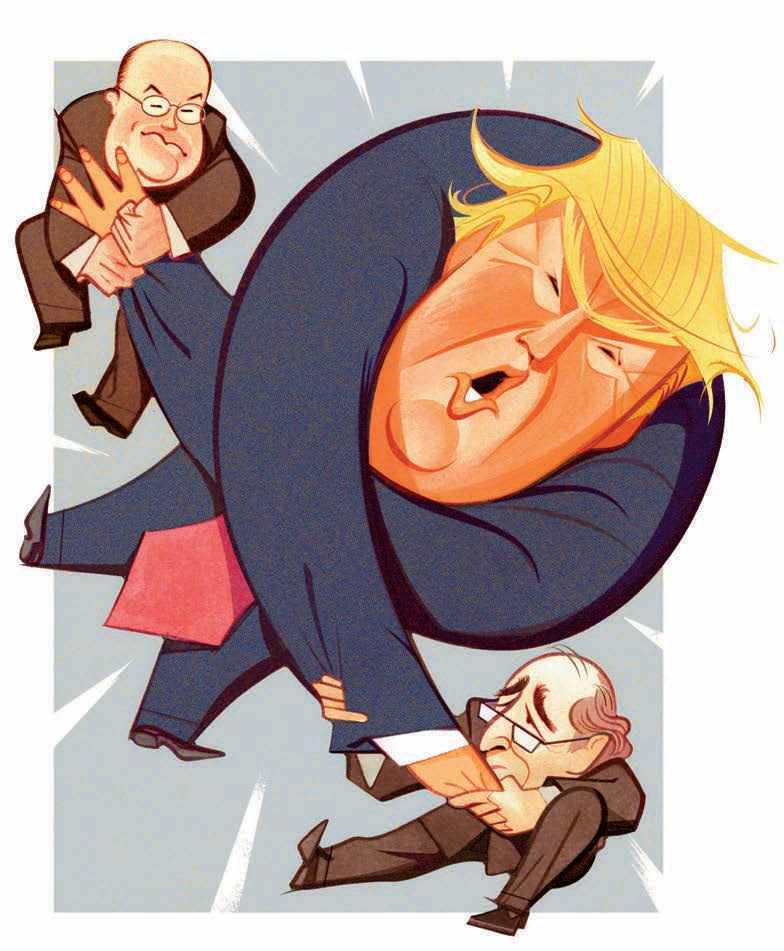 It's CNN vs. NBC: Who Will Win The Trump Tug-Of-War?