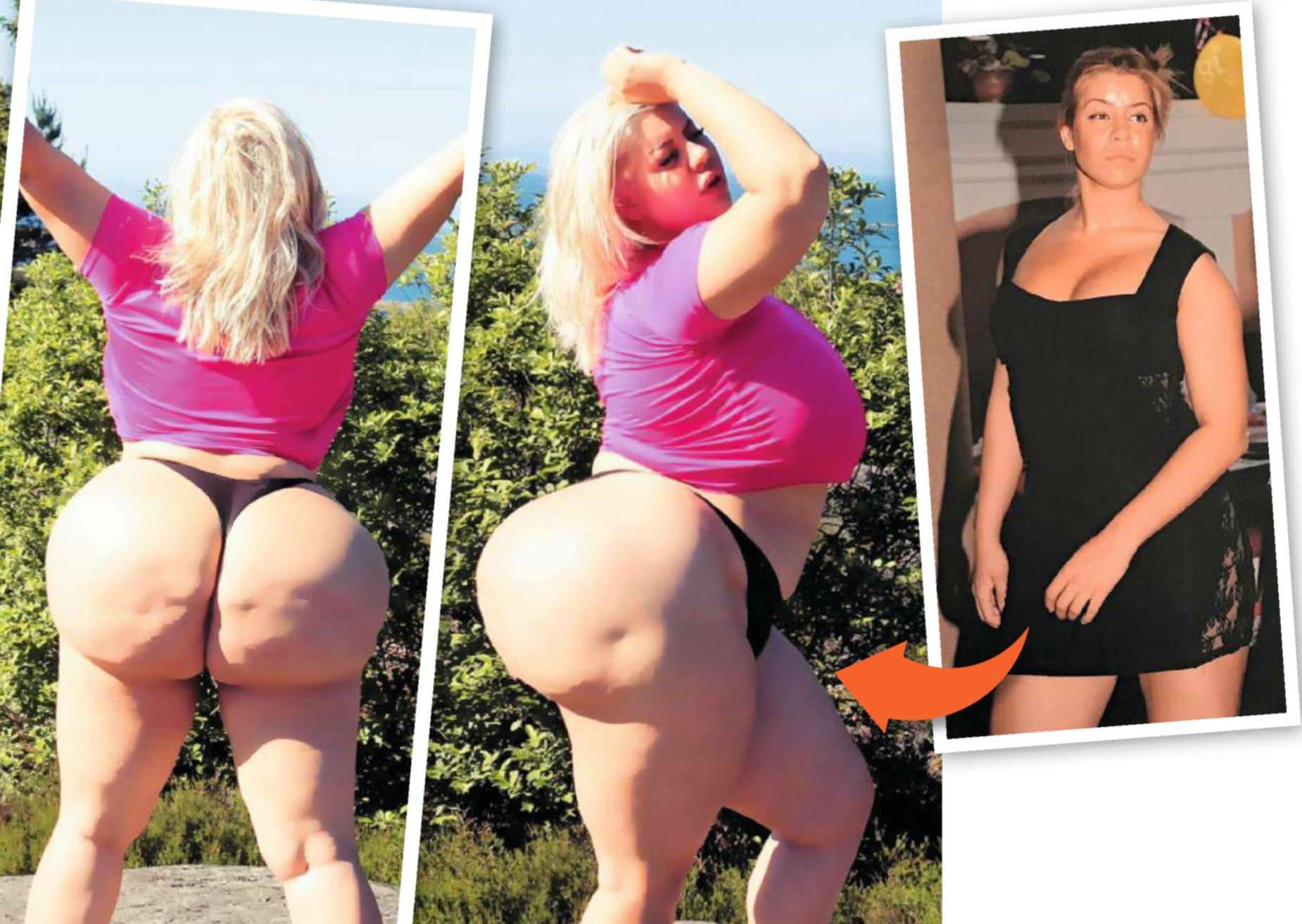 'I Have A 6ft-Wide Bum – And I'll Have Surgery To Make It Even Bigger'
