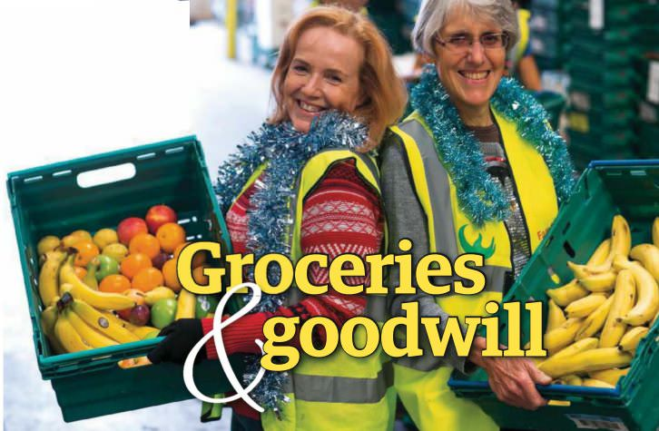 Groceries & Goodwill