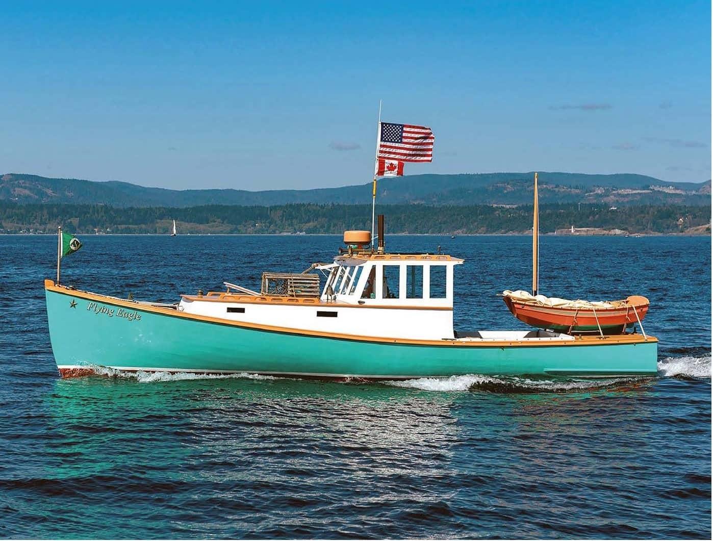 Hot Rod Lobster Boat