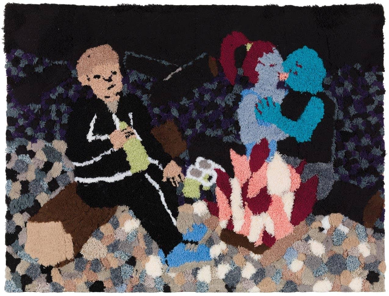 Jessica Campbell's Carpet And Comics At Chicago MCA