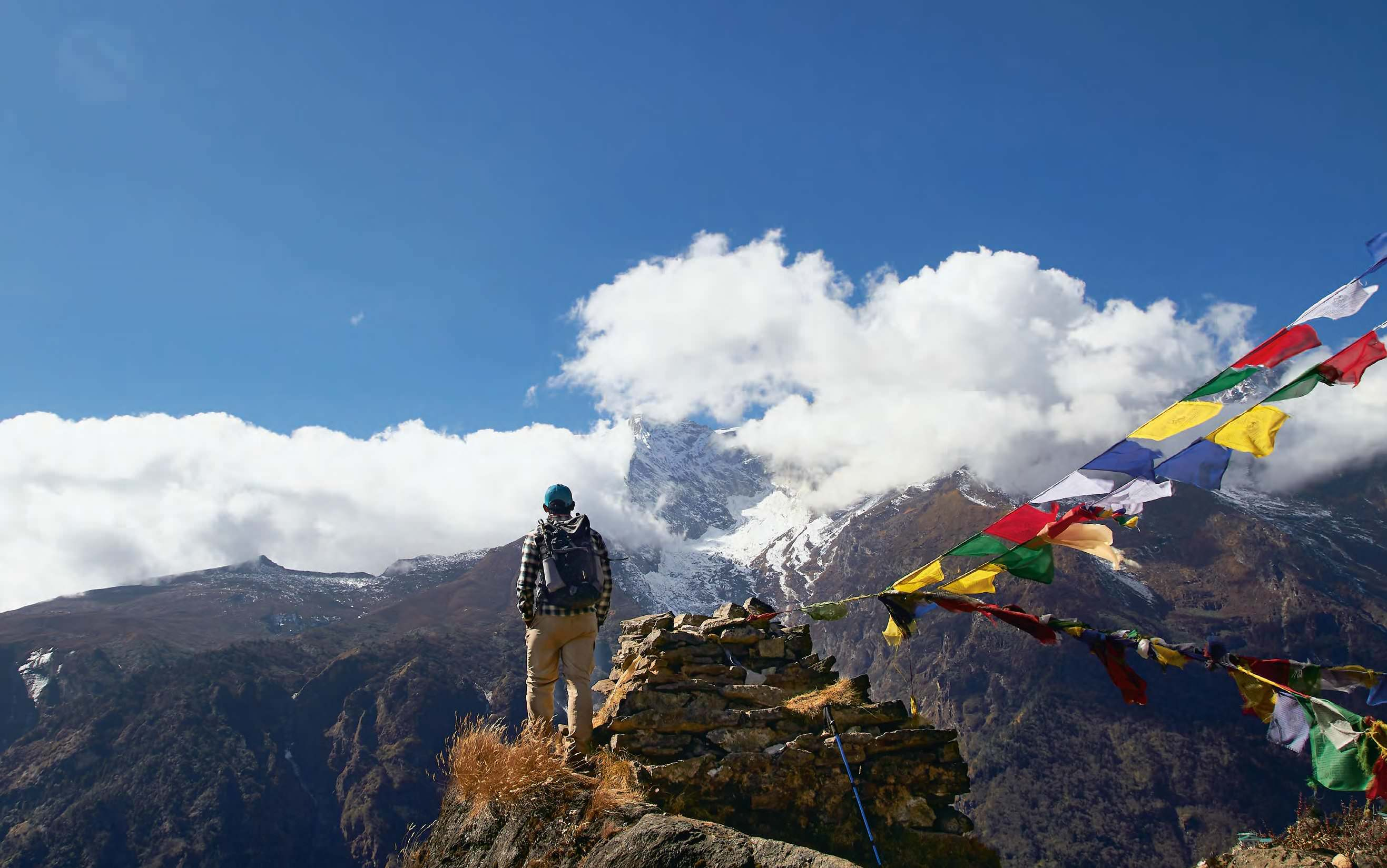 Everest Base Camp- Piercing Peaks, Breathless Trails and Sherpas Stories By The Fire