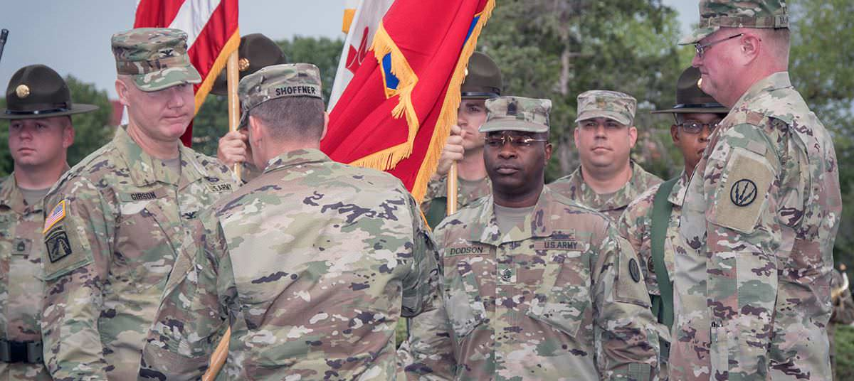 Air Defense Artillery School House Changes Leadership, McIntire Continues To Serve ADA