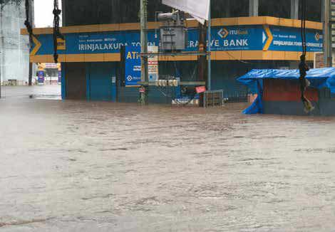 Banks In Thrissur & Malappuram Not Badly Affected By Kerala Floods